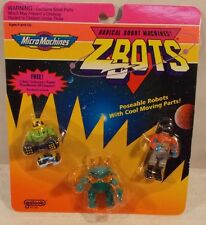 Z-Bots Micro Machines - Reactor, Zolord, & Glaxar Collector's Robots Galoob MOC