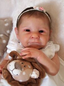 Bébé reborn baby AVA Cassie Brace Edition limitée