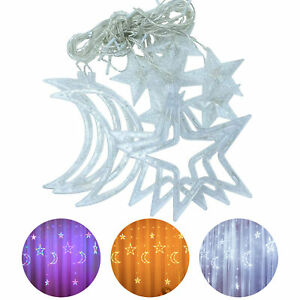 LED Fairy String Curtain Window Lights Wedding Party Waterproof Home Decoration