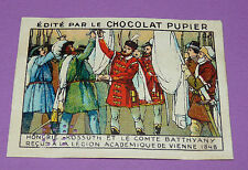 CHROMO CHOCOLAT PUPIER EUROPE 1932 HONGRIE KOSSUTH COMTE BATTHYANY VIENNE 1848