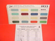 1954 1955 BUICK ROADMASTER CONVERTIBLE SUPER CENTURY SPECIAL PAINT CHIPS SW