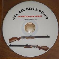 AIR RIFLE GUN TUNING SERVICE CARE & REPAIR ALL AIRGUN PELLET GUNS  FREE TARGETS