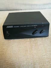 S-video SVHS 2 Way Switch With Cables. JEBSEE AV-210Y/C