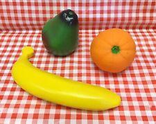 Kids Play Food Fruit Orange Banana Pear Lot  For Pretend Tikes Groceries MCSPF33
