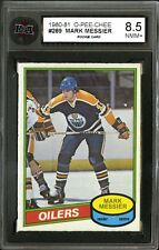 1980-81 O-PEE-CHEE~#289~MARK MESSIER~HALL OF FAME ROOKIE CARD~KSA 8.5
