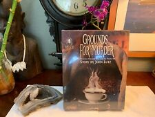 NEW Bepuzzled Grounds For Murder Mystery Jigsaw Puzzle 1000 Pc John Lutz VINTAGE