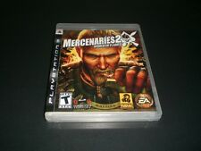 """Mercenaries 2: World in Flames (PlayStation 3) Complete """"Great Condition"""""""