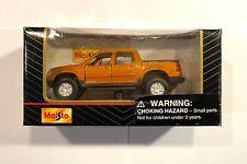 "Maisto 1/43 Scale Ford Explorer Sport Trac Orange NIB 4"" INCHES LONG Diecast"
