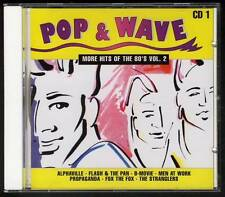 POP & WAVE CD1 CD Propaganda Alphaville Flash & The Pan B-Movie Icehouse