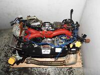 JDM SUBARU FORESTER SG9 EJ255 STI ENGINE 2.5L DOHC VF41 TURBO MOTOR