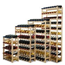 Weinregal Flaschenregal Flaschenständer für 12-77 Flaschen Kiefer Holz RW-1