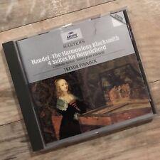 Handel: The Harmonious Blacksmith 4 Suites For Harpsichord CD Trevor Pinnock