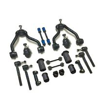 20 Pc Control Arms Ball Joints Tie Rods Sway Bar Kit for Cadillac Chevrolet GMC