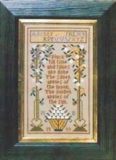 10% Off Moira Blackburn Samplers Counted X-stitch chart - Pluck Till Time