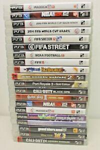 Mixed PlayStation 3 Game Lot (20)