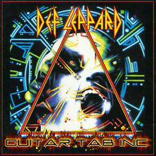 Def Leppard Guitar & Bass Tab Tablature HYSTERIA Lessons on Disc