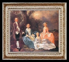 1700's Family Miniature Dollhouse Picture
