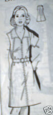 Vintage Mail Order SEWING Pattern Dress Grace Cole 8319 14.5