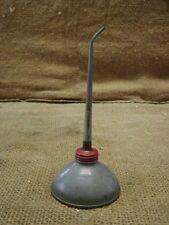 Vintage Oil Can > Antique Metal Iron Oiler Tractor Auto Truck Gas Farm 6321