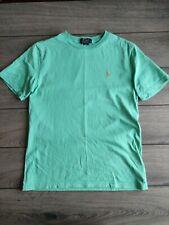 New listing Boy's Ralph Lauren Polo Green 100% Cotton T-shirt Size 14-16