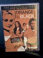 ORANGE IS THE NEW BLACK TV SERIES COMPLETE FIRST FIVE SEASONS DVD 1-5 New Sealed