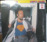 "Vintage 1970s LP Vinyl Record Herbie Mann Super Mann 1978 Atlantic Disco Pop 12"""