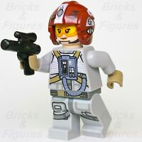 New Star Wars LEGO® Sandspeeder Pilot Rebel Alliance Fighter Minifigure 75204