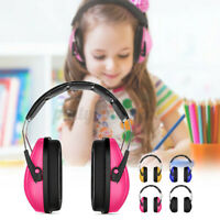 Student Kids Baby Ear Defenders Children Sleep Hearing Protection Earmuffs  *a