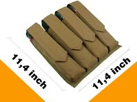 Pouch Case molle tactical Harnesses coyote brown paintball bag tube 160 pods