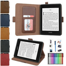 Para Amazon Kindle 2019 10th e-book 6 Pulgadas Auto Sleep/Wake Billetera Abatible Estuche Cubierta