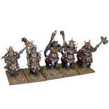 Kings of War Abyssal Dwarf Half Breed Cavalry Mantic Games