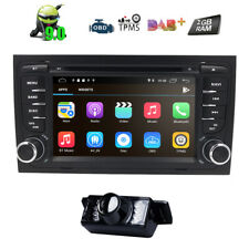 """Android 10.0 Car Stereo DVD Player 7"""" GPS NAV Radio for AUDI A4 S4 B6 B7 RS4"""