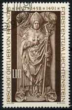 Liechtenstein 1976 SG#651 Bishop Ortlieb Cto Used #D59421