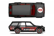 Yokohama Advan Racing Decals - 1/64 Hot Wheels Japan Historics 510 Livery