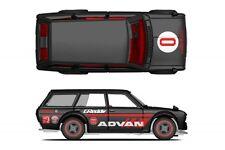 Hot Wheels Japan Historics Datsun 510 Advan Racing Decals
