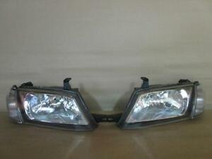 JDM Nissan Wingroad Advan Ad Van Y11 Headlights Corner Lights Lamps Set OEM