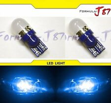 LED 5050 Light 194 Blue 10000K Two Bulbs Side Marker Map Step Door Parking Trunk