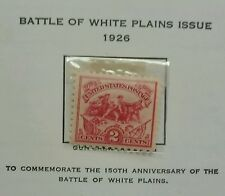 Scott #629. 2 Cents Stamp Battle of the White Plains Issue.  MNH - PERFECT