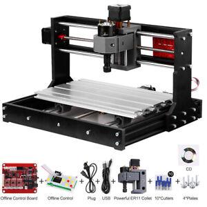 3018 Pro CNC Router 3 Axis Laser Engraver Engraving Machine w/Offline Controller
