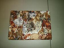 1-Bunnies/Rabbits Everywhere! King Size Pillowcase 100% Cotton, New & Handmade!