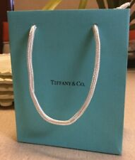 Tiffany & Co. Paper Shopping Gift Bag Small