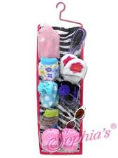 "Zebra Print Hanging Accessory Bag shoe storage fit 18"" American Girl Doll"