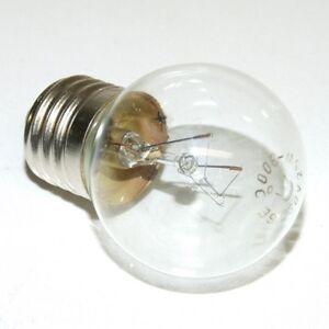 E27 25W 230V 300 DEGREE OVEN LAMP LARGE BULB CLEAR Incandescent LIGHT GLOBE GE+