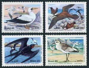 Brazil 2001-2004,MNH.Michel 2122-2125. Wildlife Conservation,1985.Birds.
