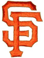 San Francisco Giants Baseball MLB Iron On Patch Embroidered Team Logo 2.5 Med