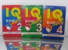 1PC. BUNDLE EDUCATIONAL BOOKS I.Q. BOOSTER GENERAL INFORMATION # 2,3,4