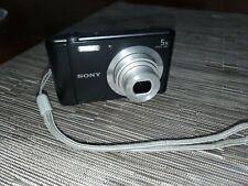 Sony Cyber-shot 20.1 MP Digital Camera - Black