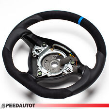 Tuning Abgeflacht Lederlenkrad VW Golf 4 Bora  Passat 3B  GTi Blauer Ring