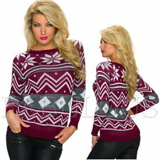 Christmas Geometric Jumpers & Cardigans for Women