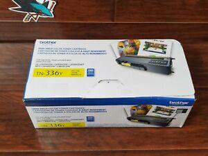 Genuine Brother TN-336Y TN336Y High Yield Yellow Toner Cartridge NEW OPEN BOX